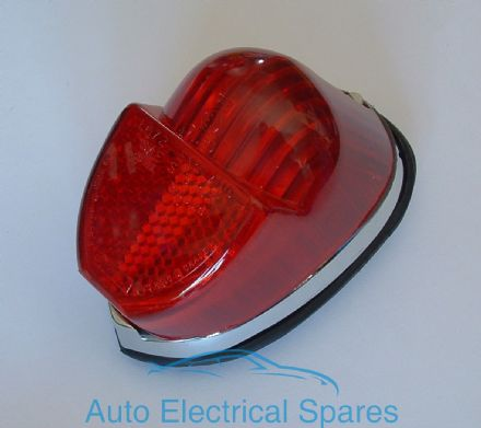 54138 rear / tail light lamp unit COMPLETE RED replaces Lucas L672